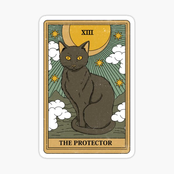 The Protector Sticker