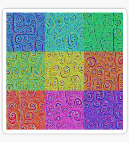 Deep Dreaming of a Color World 2K Sticker