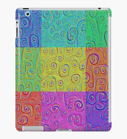 Deep Dreaming of a Color World 2K iPad Case/Skin