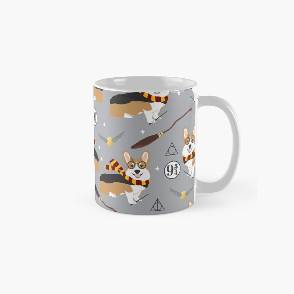 corgi potter wizarding world pattern Mugs