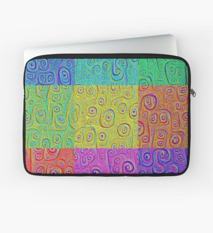 Deep Dreaming of a Color World 2K Laptop Sleeve