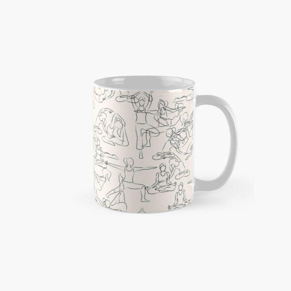 Yoga Manuscript Classic Mug