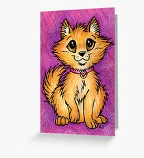 Pom Pup - Cute Little Pomeranian Greeting Card