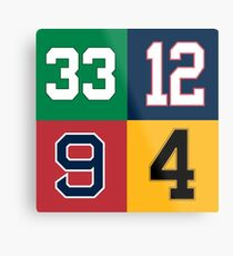 Boston Sports Legends Metal Print