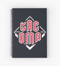 Tacoma but in red Spiral Notebook