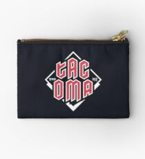 Tacoma but in red Zipper Pouch