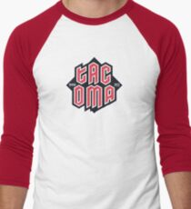 Tacoma but in red Baseball ¾ Sleeve T-Shirt