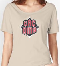 Tacoma but in red Relaxed Fit T-Shirt