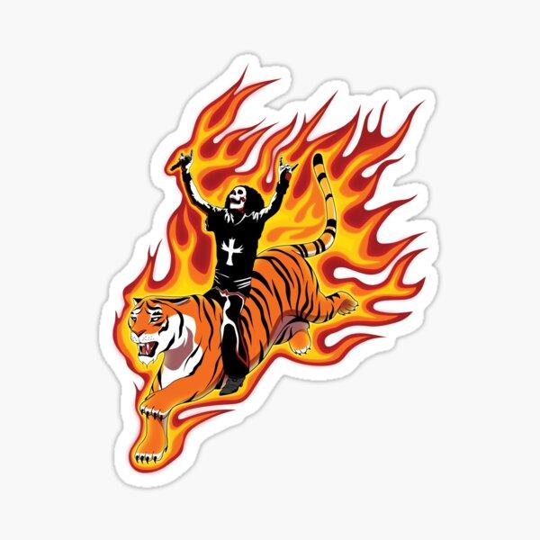 Ride the Tiger Sticker