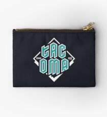 Copy of Tacoma but in teal! Zipper Pouch