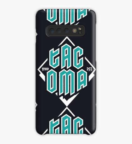 Copy of Tacoma but in teal! Case/Skin for Samsung Galaxy