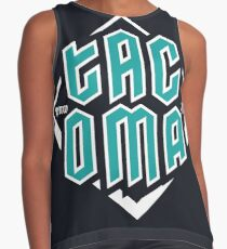 Copy of Tacoma but in teal! Sleeveless Top