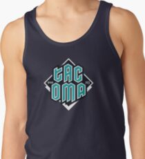 Copy of Tacoma but in teal! Tank Top