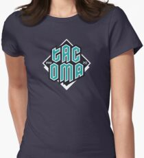 Copy of Tacoma but in teal! Fitted T-Shirt