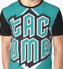 Copy of Tacoma but in teal! Graphic T-Shirt