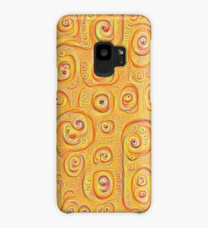 Deep Dreaming of a Yellow-Orange World 4K Case/Skin for Samsung Galaxy