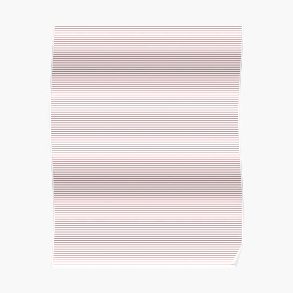 #Parallel, #Geometry, #Beige, #Color, Lines, Stripes Poster