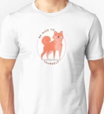 Be Nice to yourself Slim Fit T-Shirt