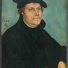 Martin Luther by Lucas Cranach the Elder, 1533 by edsimoneit