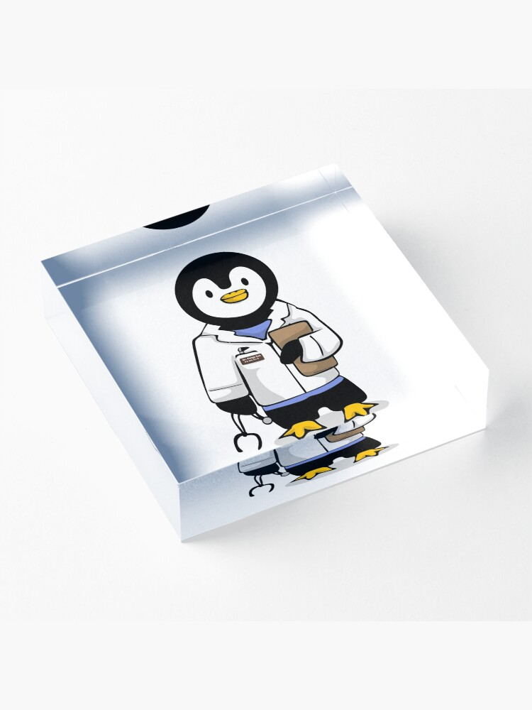 Alternate view of Dr. Pengy San Acrylic Block