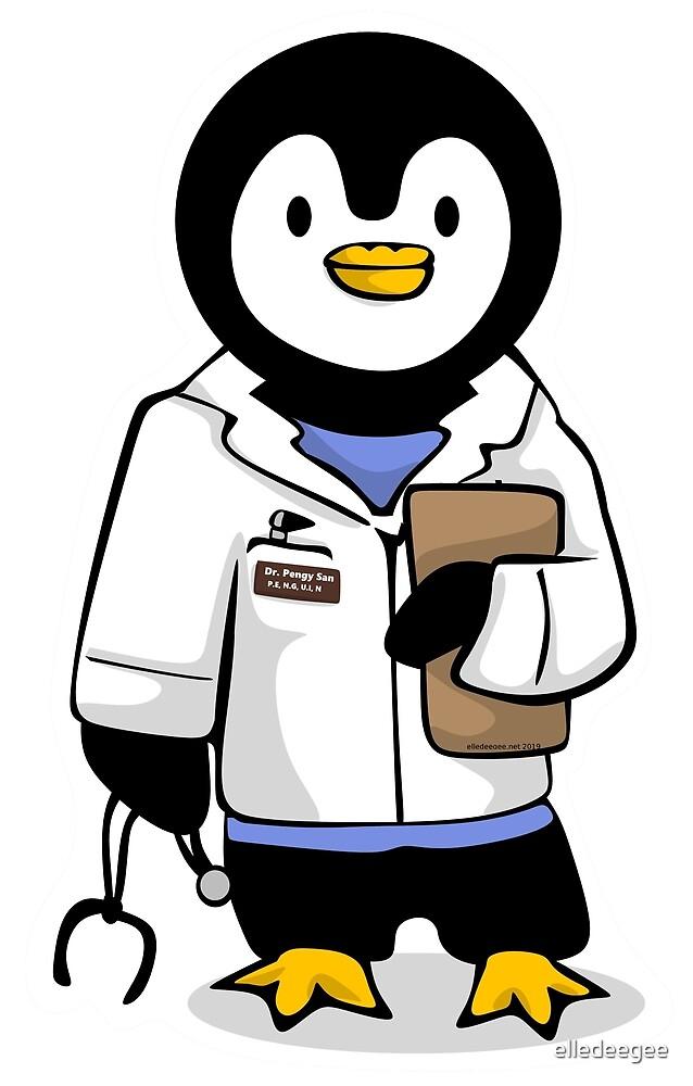 Dr. Pengy San by elledeegee