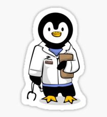 Dr. Pengy San Glossy Sticker