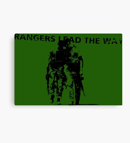 Rangers Lead the Way - U.S. Army  Canvas Print