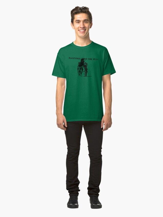 Alternate view of Rangers Lead the Way - U.S. Army  Classic T-Shirt