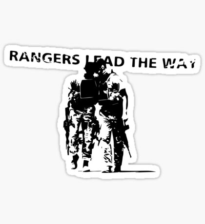 Rangers Lead the Way - U.S. Army  Sticker