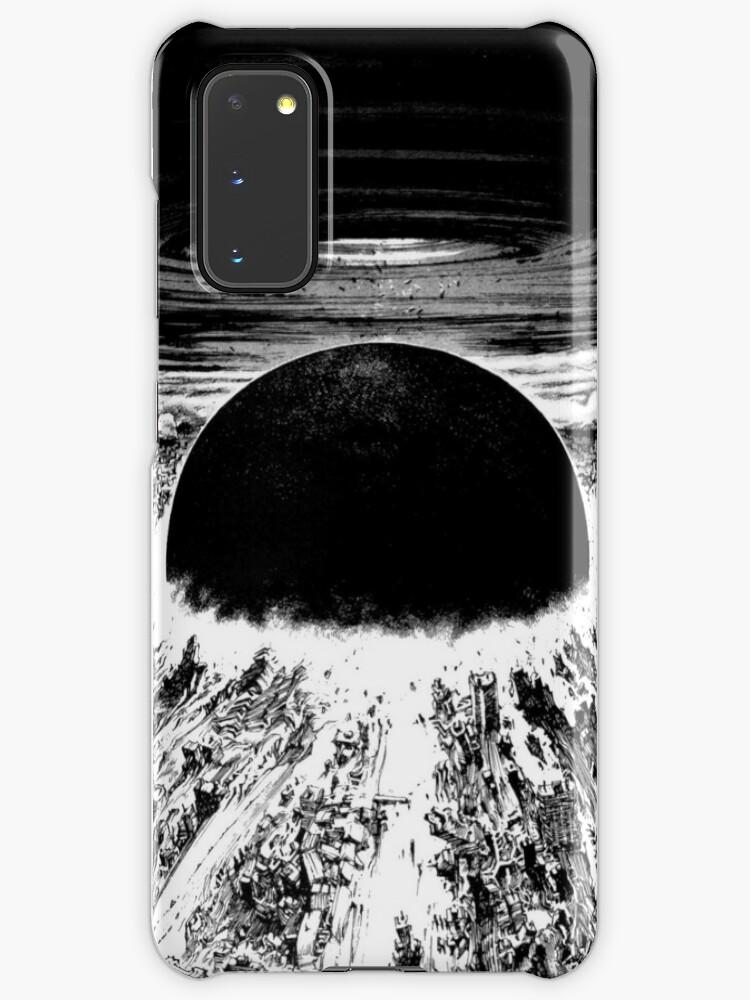 Akira Awaken Neo Tokyo Explosion Case Skin For Samsung Galaxy By Zerplin Redbubble