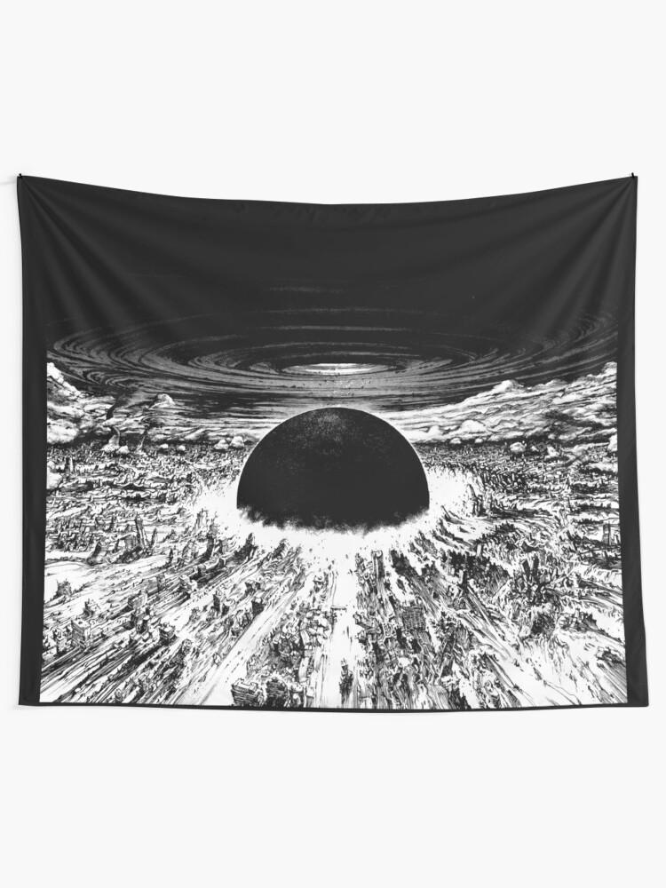 Akira Awaken Neo Tokyo Explosion Tapestry By Zerplin Redbubble