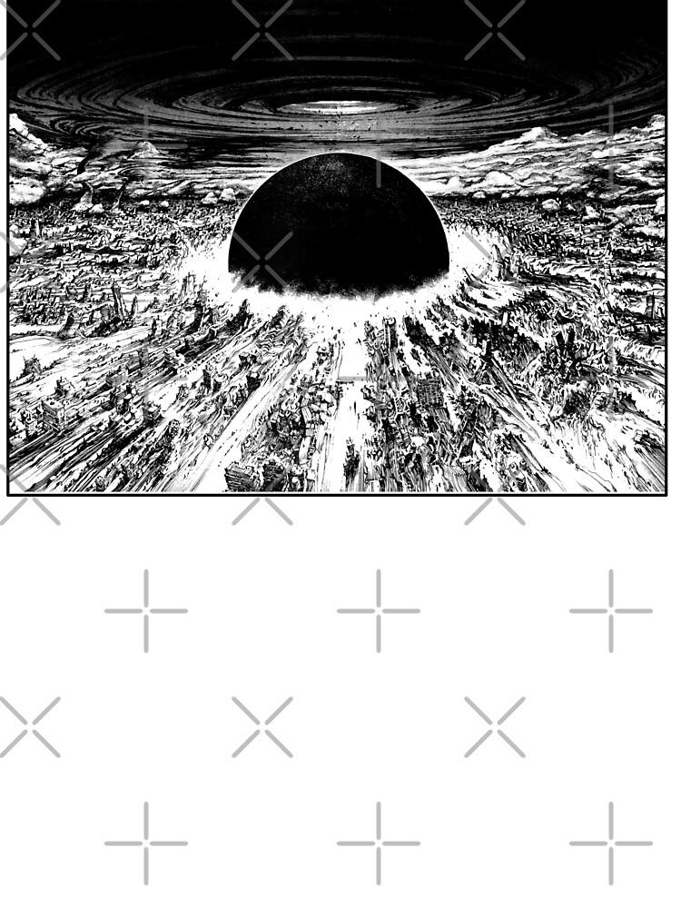 Akira Awaken Neo Tokyo Explosion Baby One Piece By Zerplin Redbubble