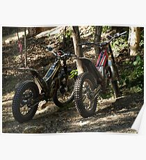 TRIAL BIKES Poster
