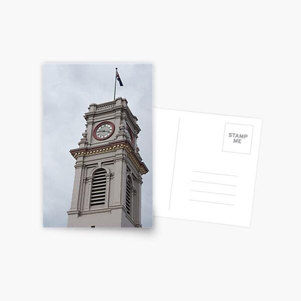 Post Office, Castlemaine, Victoria Postcard