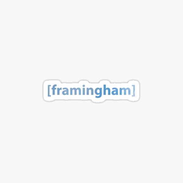 Framingham, MA Sticker