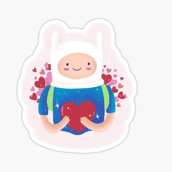 Finn .... The human! Sticker