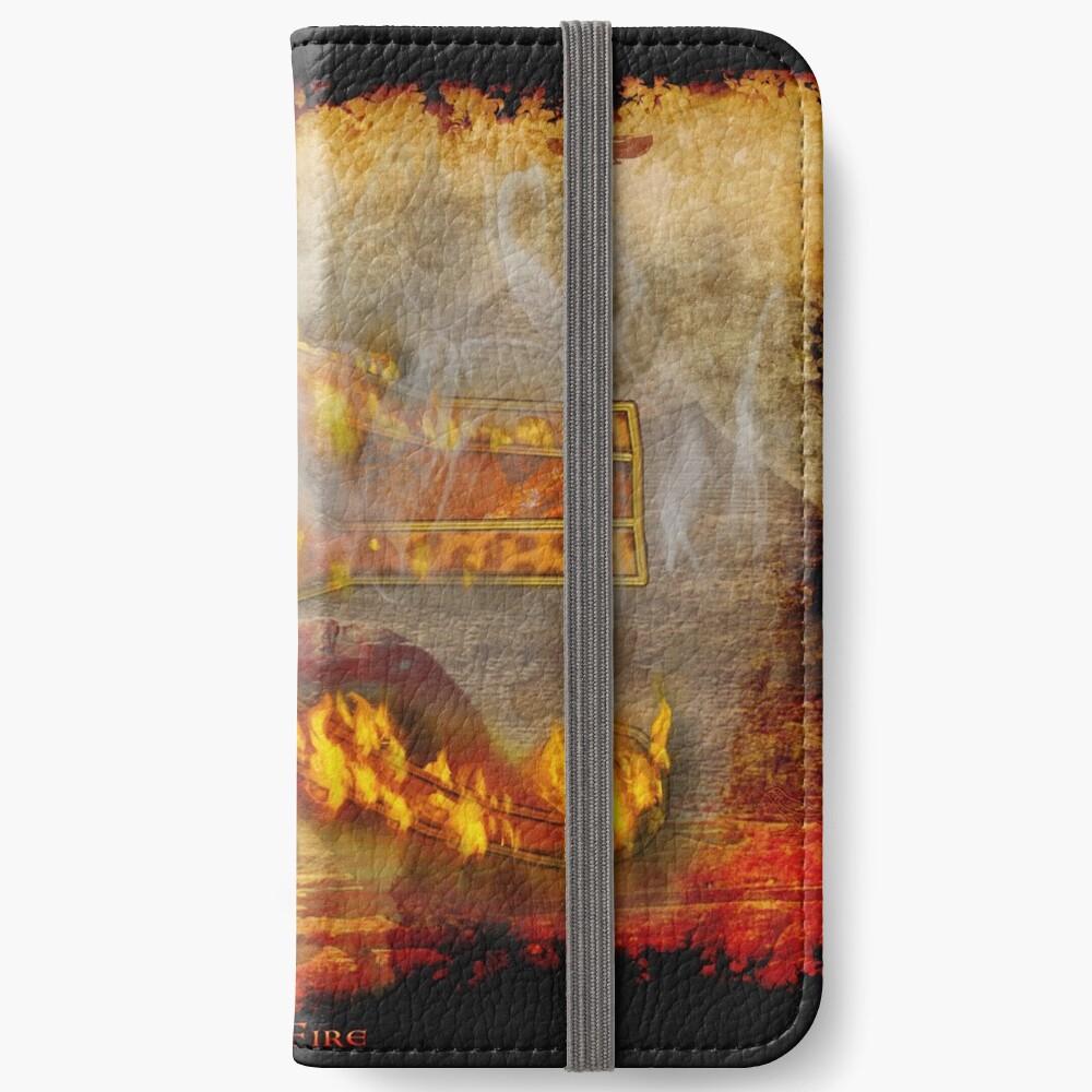 Desert Fire iPhone Flip-Case