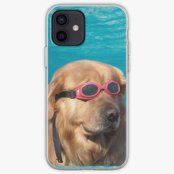 swimmer dog iPhone Soft Case