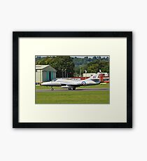 Hawker Hunter XL577 fighter Framed Print