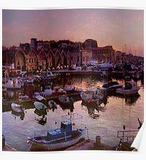 The Venetian Harbour Poster