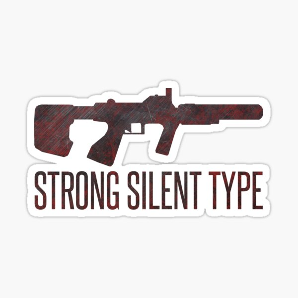 Halo ODST Strong Silent Type It's Gonna Be Close Quarters Design Sticker
