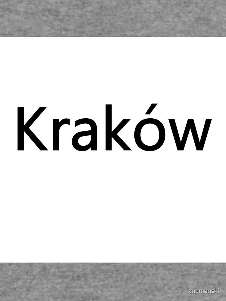 Kraków (Cracow, Krakow), Southern Poland City, Leading Center of Polish Academic, Economic, Cultural and Artistic Life by znamenski