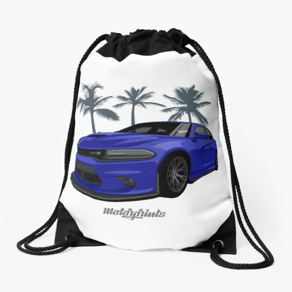 Scatpack (blue) Drawstring Bag