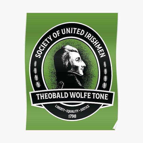 Theobald Wolfe Tone - Society of the United Irishmen Poster