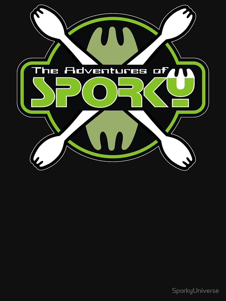 The Adventures of Sporky Logo by SporkyUniverse