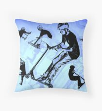 It's All About The Scooter! - Scooter Tricks Floor Pillow