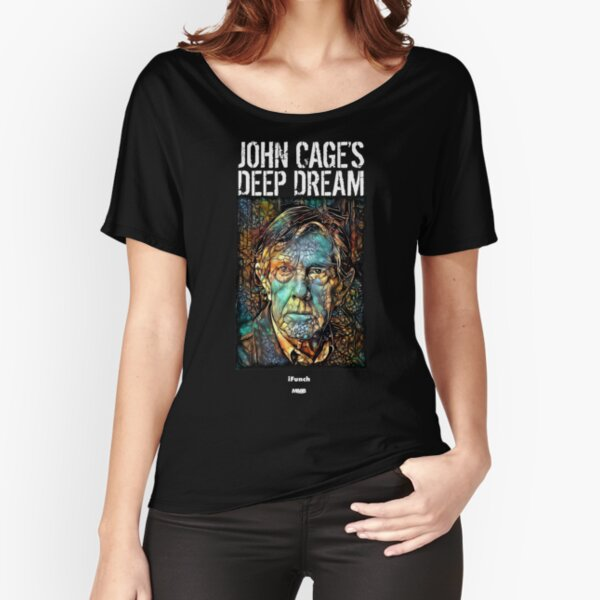 John Cage's Deep Dream Relaxed Fit T-Shirt