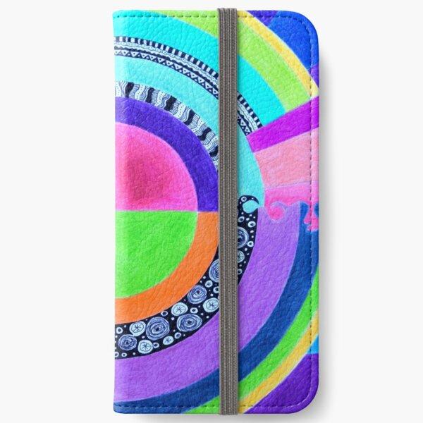 Meditation Mandala iPhone Wallet