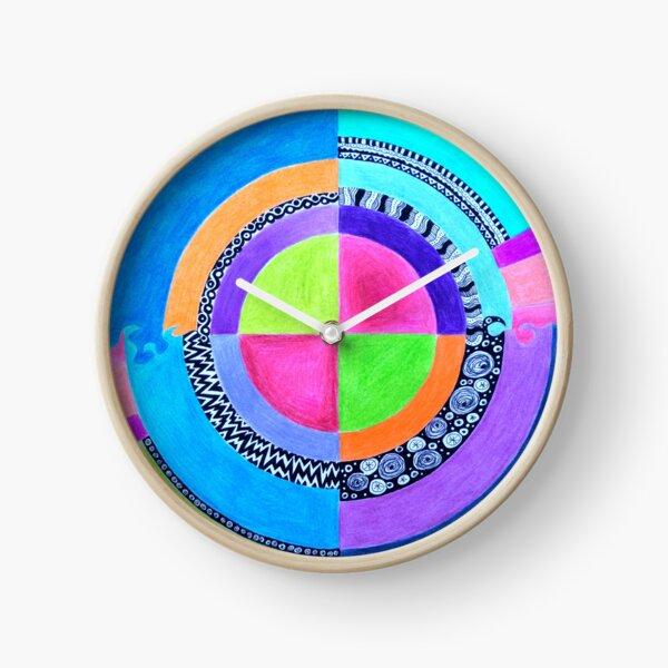 Meditation Mandala Clock