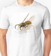 wasp Vespula germanica species isolated on white background T-Shirt